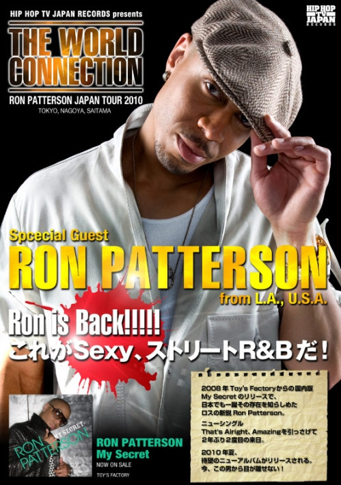 Ron Patterson Hip Hop TV Japan Tour 2010